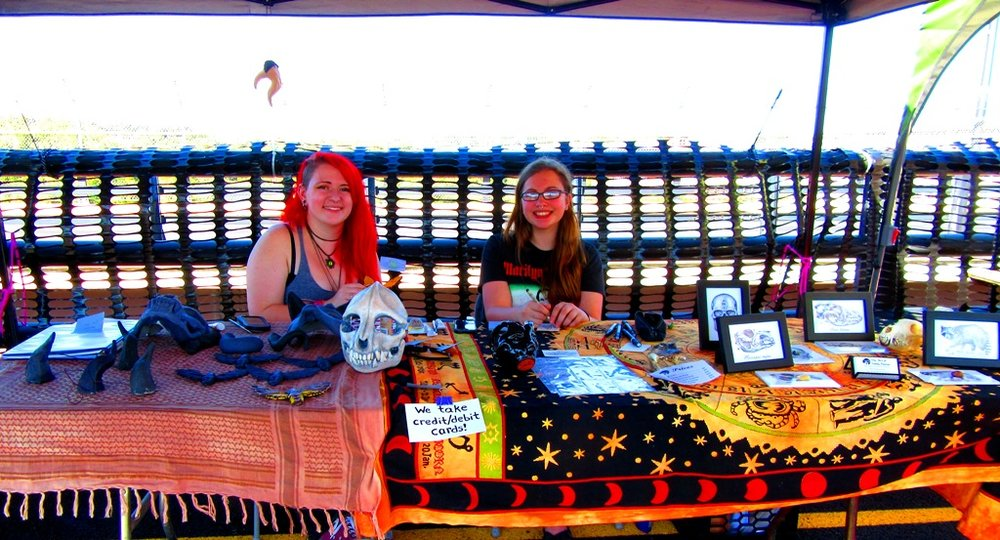 Sami and Emily from Art Jam Bridgefest