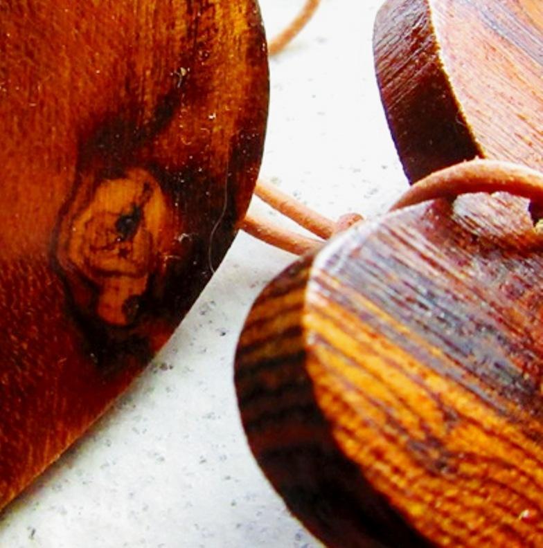 Bocote wood side grain