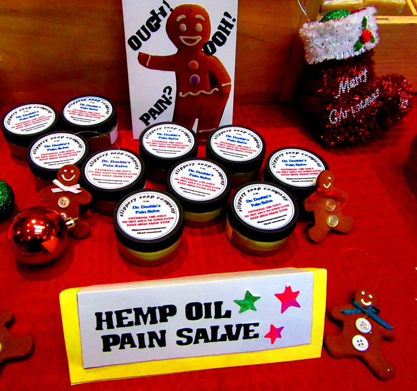 Slippery Soap Company pain salve
