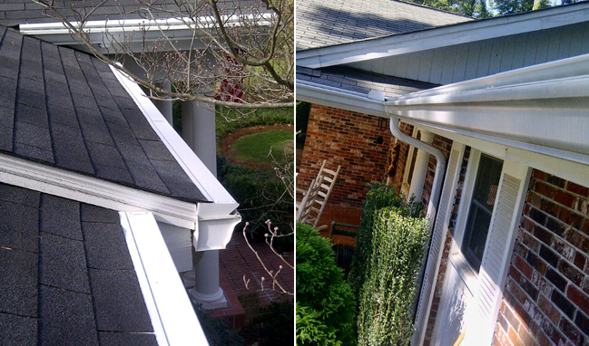 Leaf Free Gutter Guard Installation