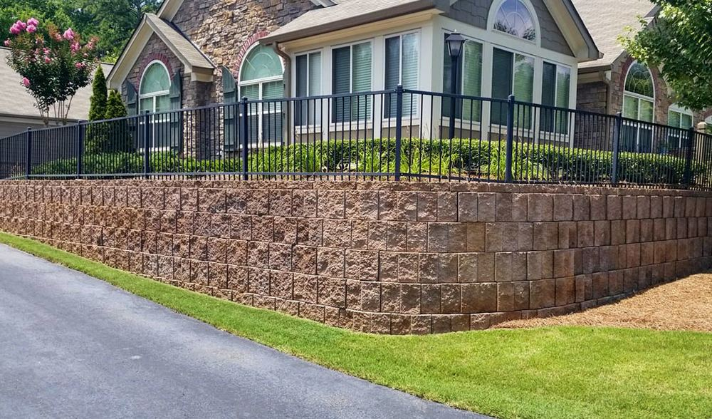 Stonebrook Commons Retaining Wall