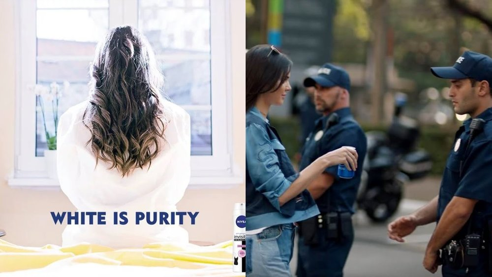 "Nivea's ""White Is Purity"" meets Pepsi's Protest Commercial"
