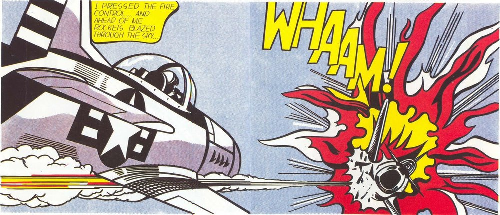 Whaam! -- Roy Lichtenstein