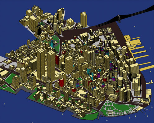 Lower Manhattan Model