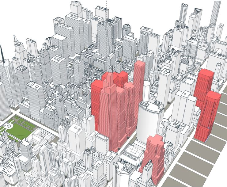 Proposed Modifications to the Height and Setback Daylighting Modifications for East Midtown