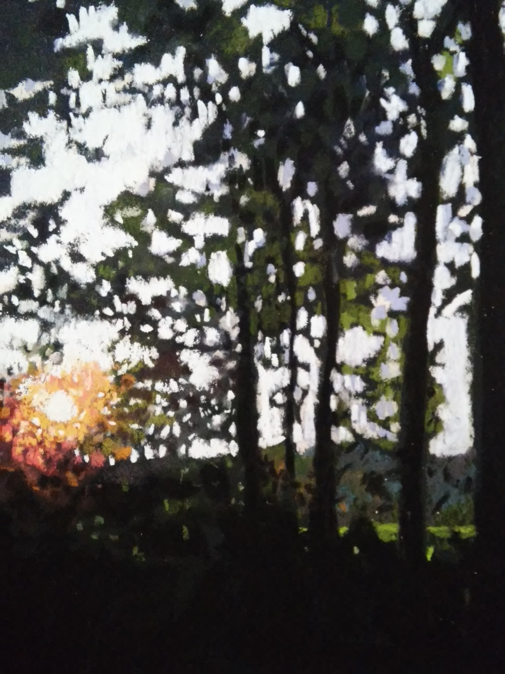 A t the End of the Day 9x12 soft pastel on Colourfix Paper   SOLD