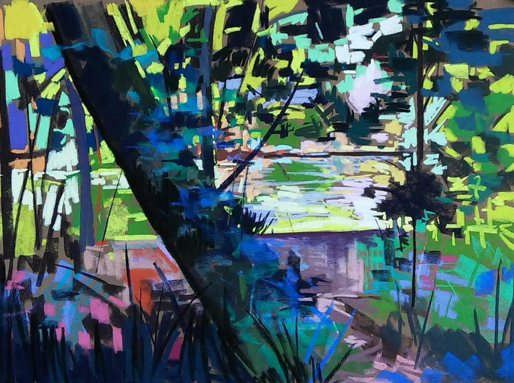 Plein Air Ellicott City 2016 23x31  SOLD
