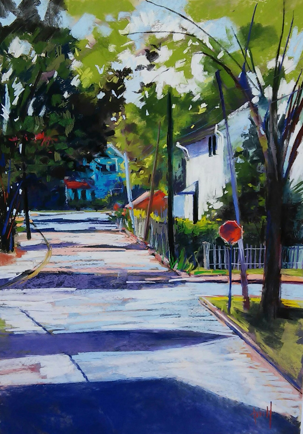 Plein Air Quick Draw Easton 2016  SOLD