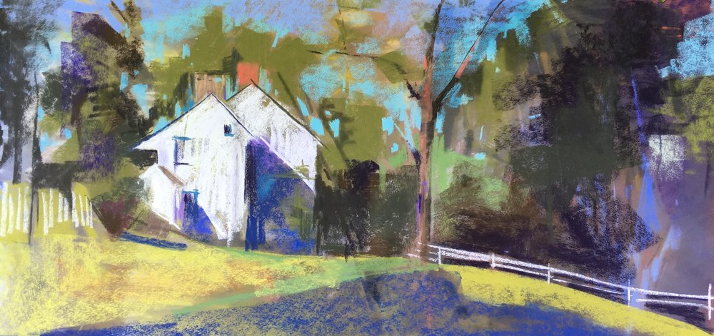 Wayne Plein Air 2017  SOLD