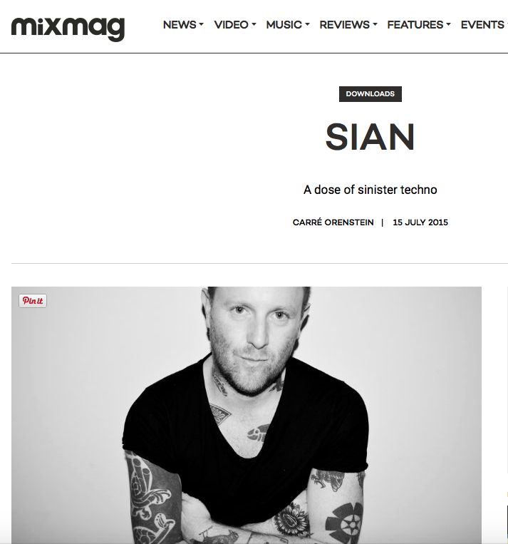Sian   MixMag