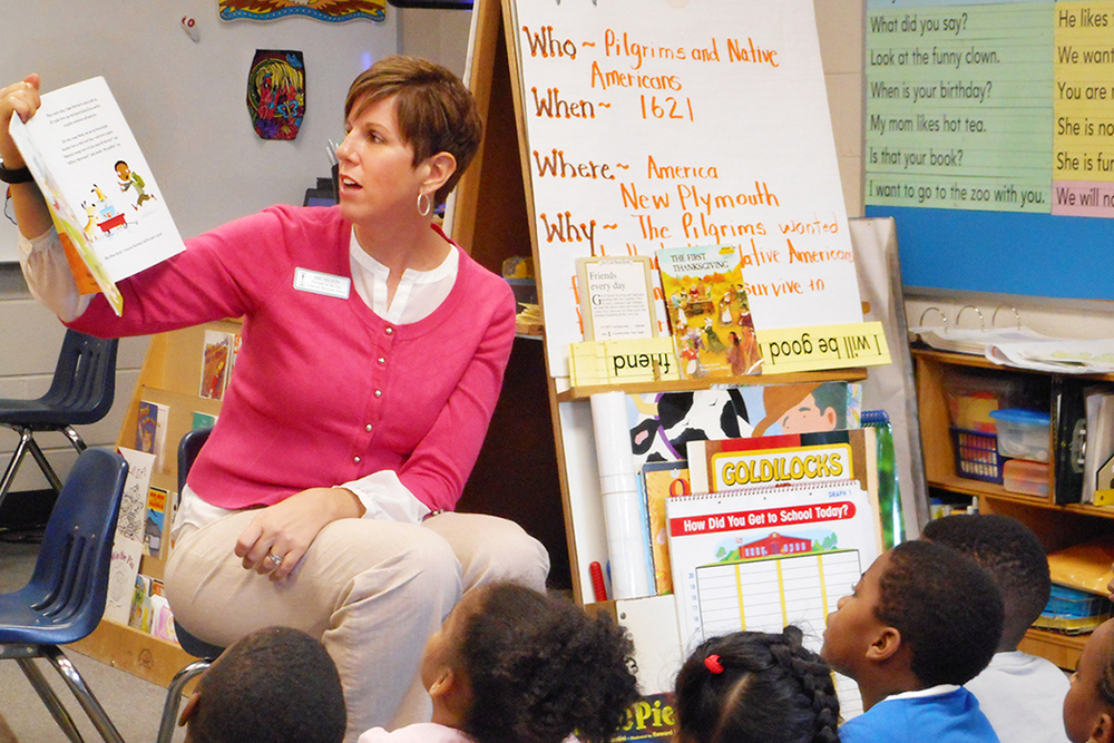 Kim Nelson of JM Tull-Gwinnett Family YMCA at Centerville Elementary School