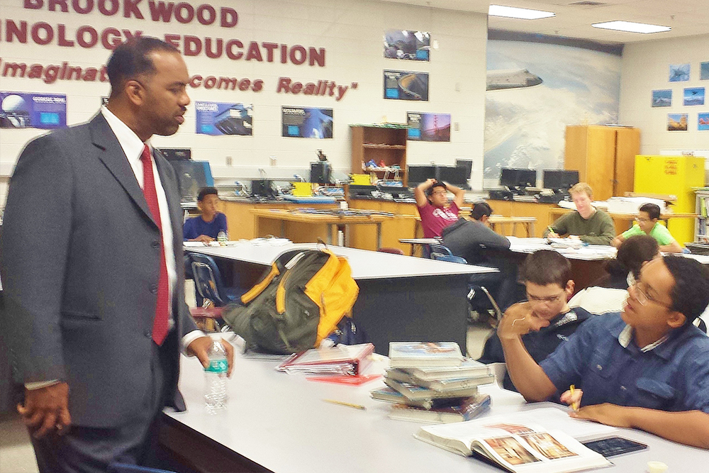 Dr. Rudy Jackson, Jr. of Georgia Gwinnett College at Brookwood High School
