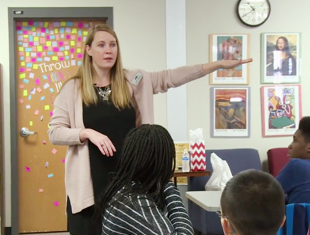 "Check out this GCPS TV ""Focus Moment"" about award-winning Entrepreneurship Teacher Cindy Quinlan of Brookwood HS."