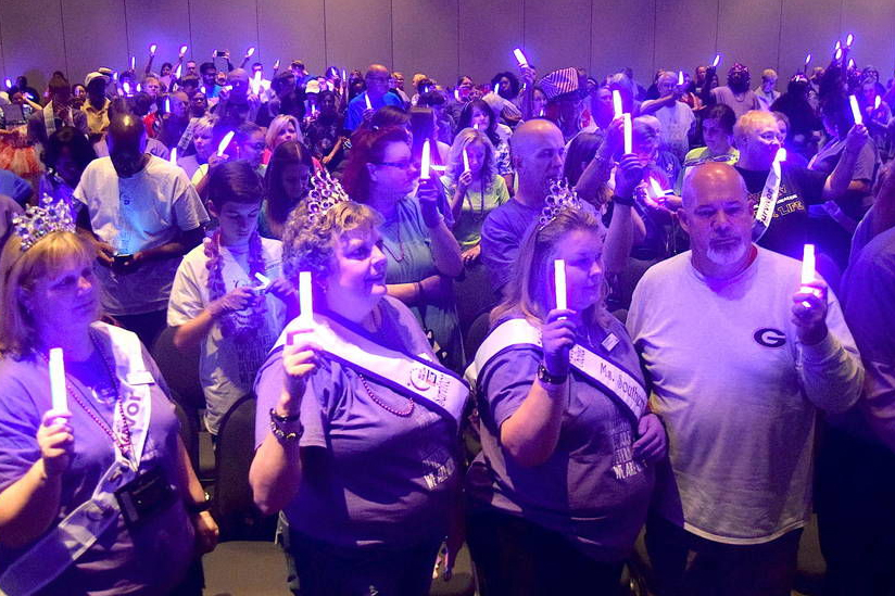 Relay for Life image courtesy of  Gwinnett Daily Post , photo credit Curt Yeomans