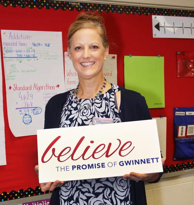 Kathy Newman of Corley ES