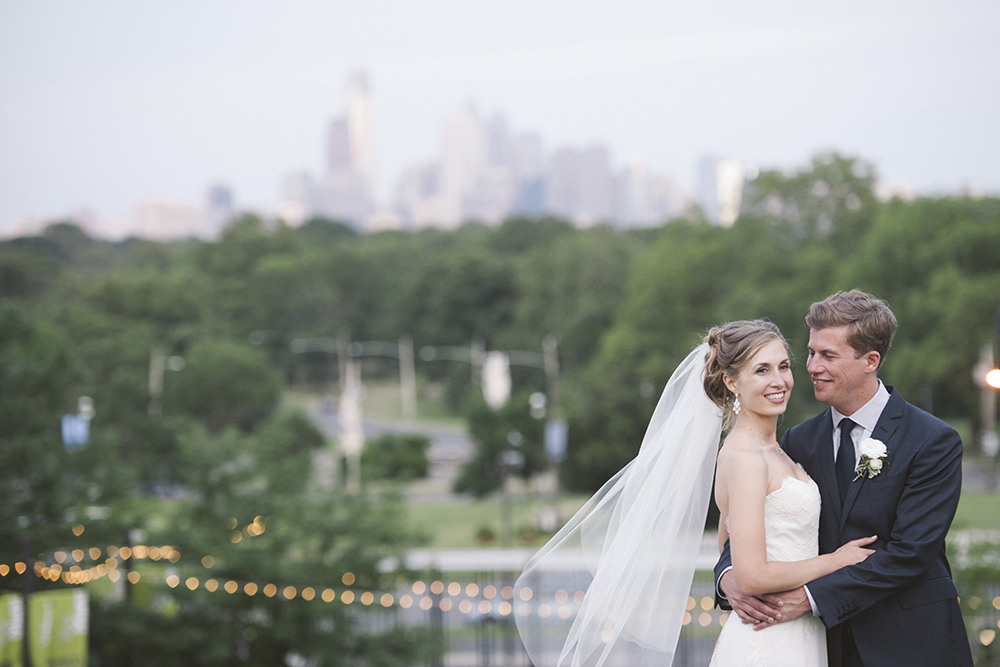 The Mann Center Wedding Venue, Overlooking Philadelphia Skyline, Philly in Love, Love Me Do