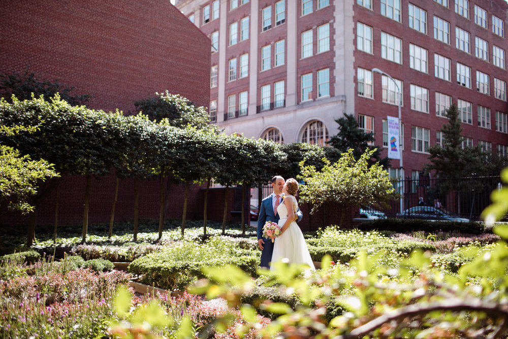 Morgan And Justin Had A Sweet Little Wedding Ceremony In The Rose Garden In  Old City Philadelphia. After The Ceremony We Did A Few More Portraits Of  The Two ...