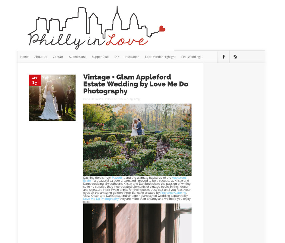 Philly in Love Blog