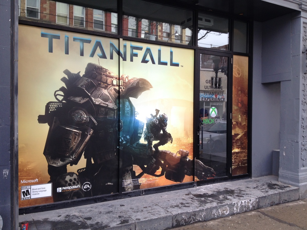 Window graphic - Titanfall for Xbox One