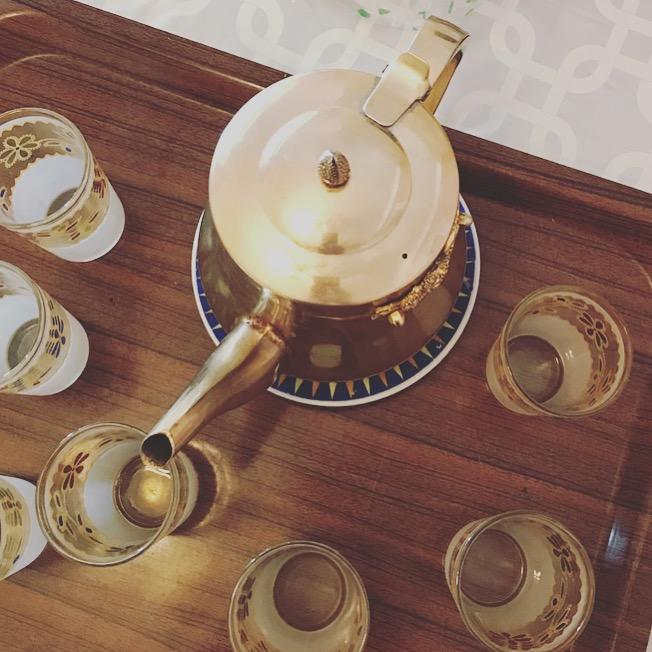 Moroccan nana tea