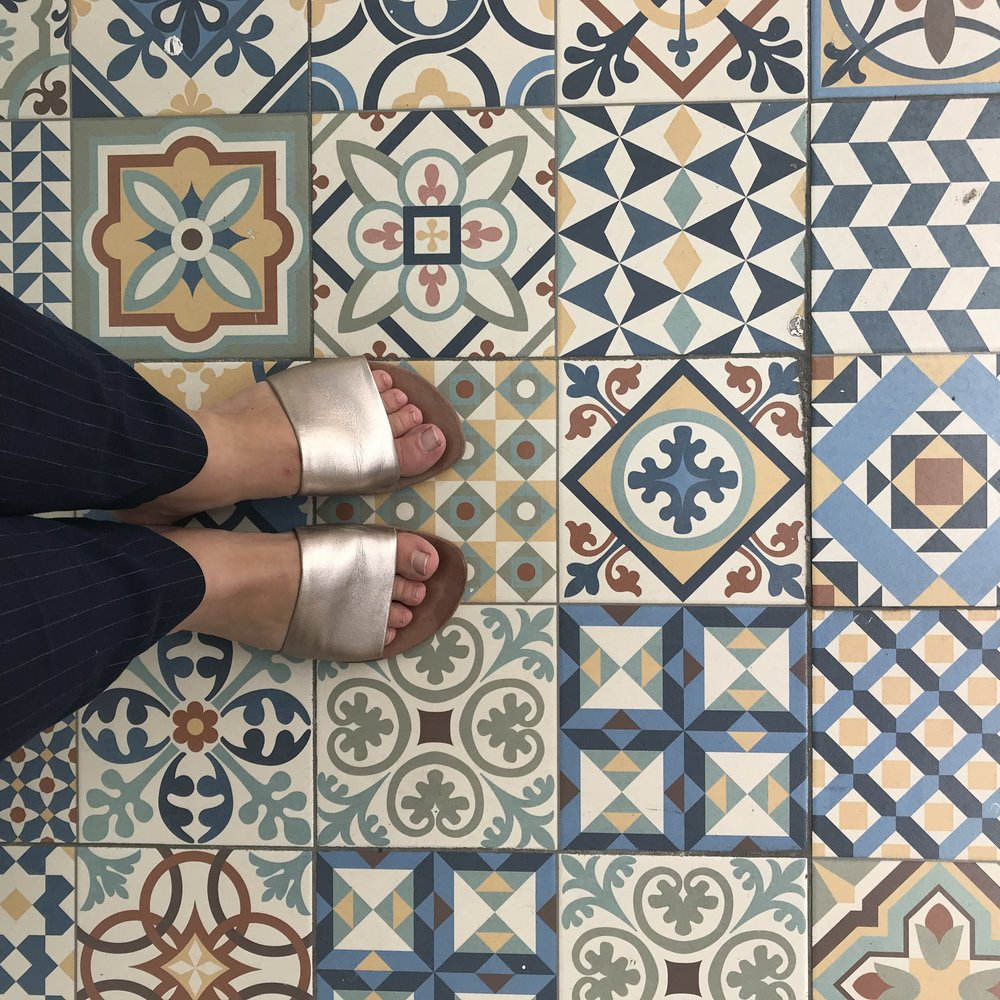 Love all the beautiful tiles you see all over Spain