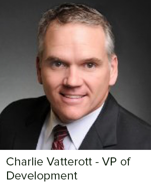 Charlie Vatterott has over 25 years of commercial real estate development experience, including national and local award-winning projects, among them Multi-Family Executive Magazine's Best Reuse of Land Award and the Houston Business Journal's Landmark Award. As a member of the Aspen Heights Partners Development and Construction team, Charlie is responsible for site acquisition and due diligence/entitlements. Since joining Aspen Heights Partners in 2010, Charlie has sourced over $500 million in completed development projects. Charlie received an M.S. in Finance/Real Estate from the Texas A&M University Mays School of Business. He also earned collegiate academic and athletic honors while co-captain of the football team at Texas State University where he earned his B.B.A. in Finance.