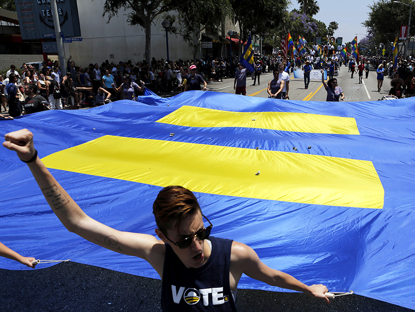 Transgender equality moves forward on both coasts