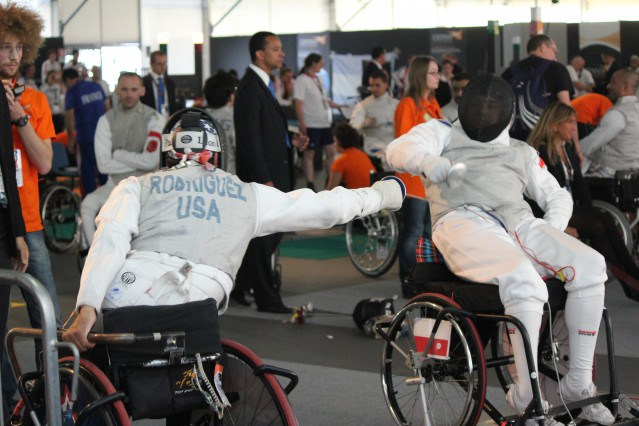 Paralympic fencer reaches for the gold a fourth time