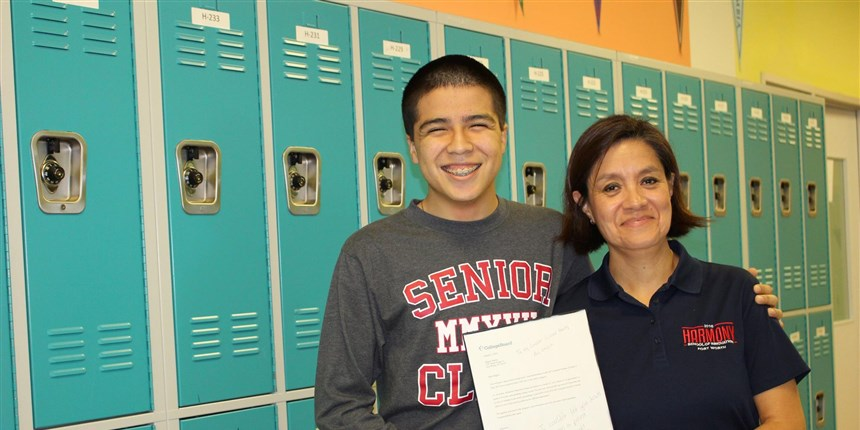 Miguel Padilla is one of 10 people in the world who earned a perfect score on the  Advanced Placement Computer Science A  exam in October 2016.