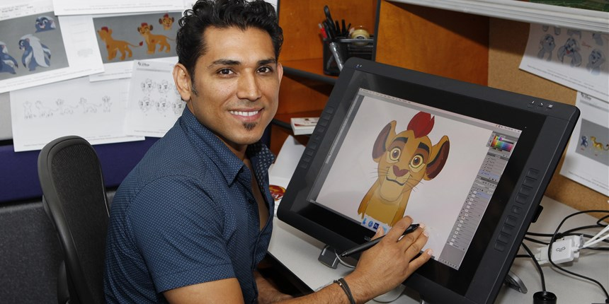 When Jose Zelaya was 6 years old, while living through the ravages of the civil war in El Salvador, he told his mother that one day he would work for Mickey Mouse. Now he's a character designer at Disney.