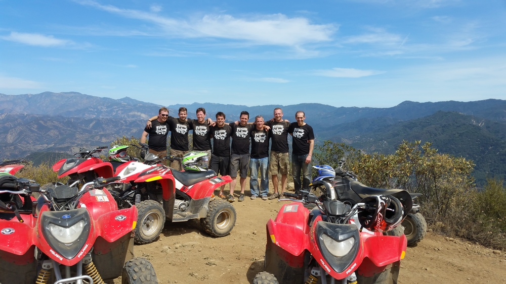 Corporate events team building executive meetings company retreats sales rewards customer appreciation celebrations ATV tours rentals tour rent rental quad side by side 2up 2 person 4 seat polaris rzr teryx challenge course healthy competition enjoy the mountain hiking geocaching mountain bike and experience a fun time during your vacation whether you are in California Los Angeles Lake Arrowhead Santa Barbara Hungry Valley Gorman Santa Clarita Lebec Carpinteria Burbank Pasadena Big Bear San Bernardino San Diego Alpine Orange County Irvine Calabasas Hollywood