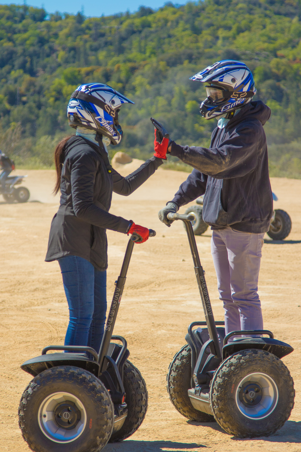 off-road segway tour ATV offroad segway x2 quad tour side by side rental couples adventures together atv quad 2up los angeles lake arrowhead santa barbara Big Bear, san diego, hungry valley, santa clarita, valencia, alpine, rowher, pismo, montecito, burbank, thousand oaks