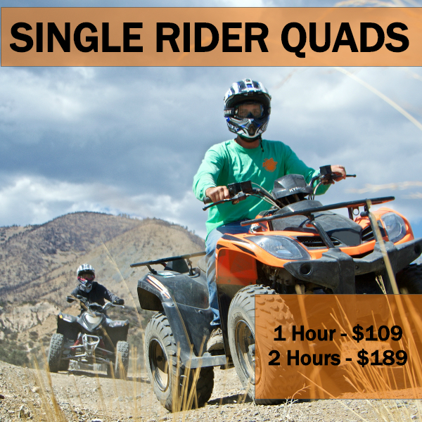single rider quads