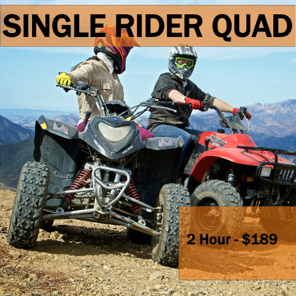 2 HR - PRIVATE ADVENTURE - Good for larger groups. Min Age 12 years old