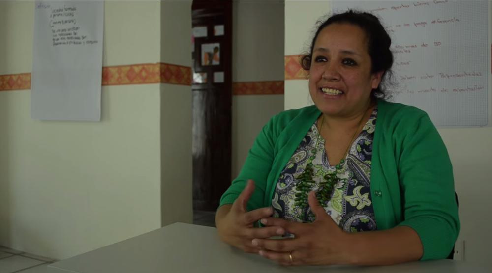 Patricia de Sandoval en el Centro Mujeres Moviendo México de Toluca