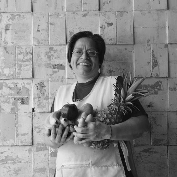 Judith en el mercado. ©Elena Sampietro