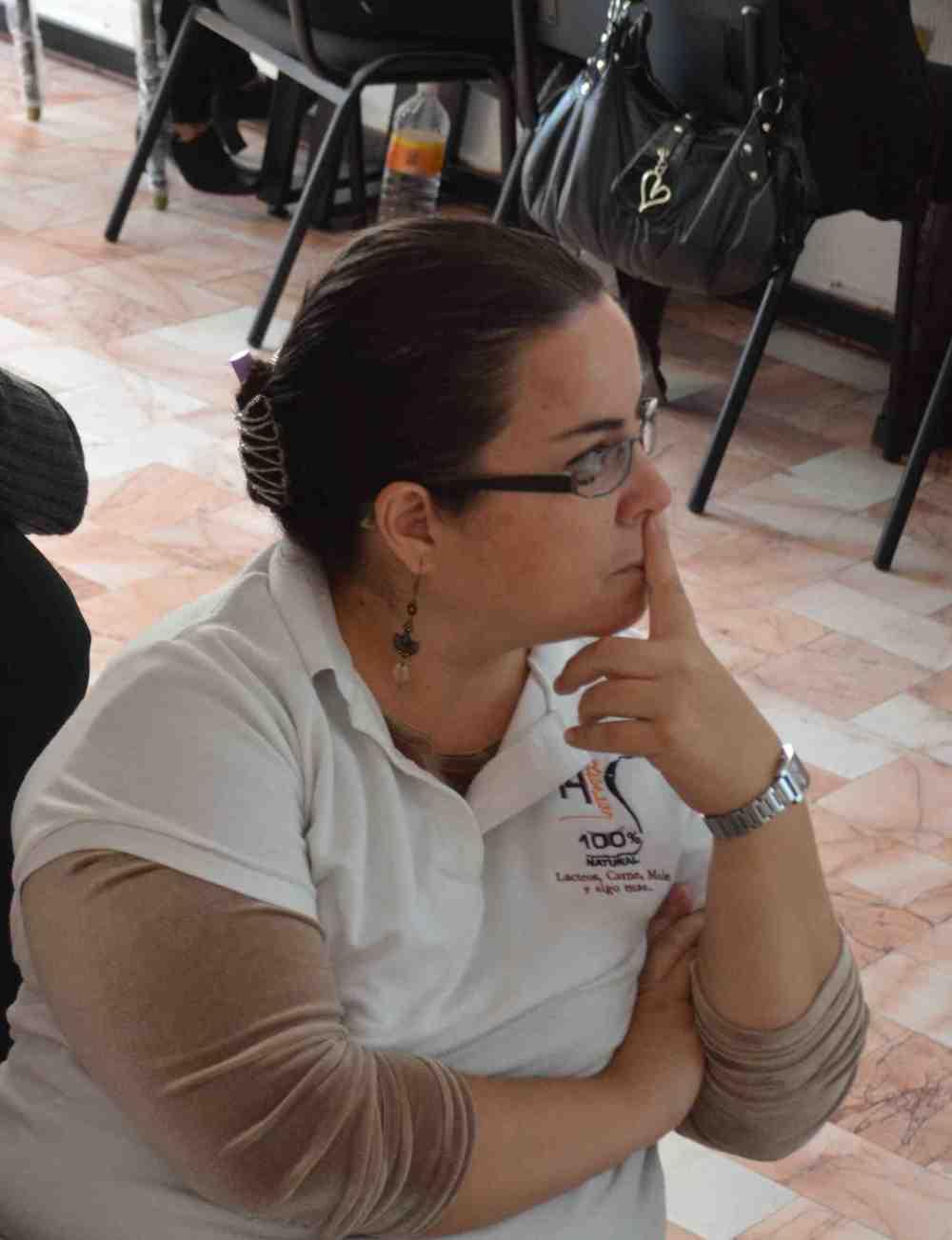 Claudia en el Centro Mujeres Moviendo México de Querétaro ©Elena Sampietro