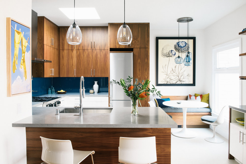 Portola Kitchen Remodel Front Of House