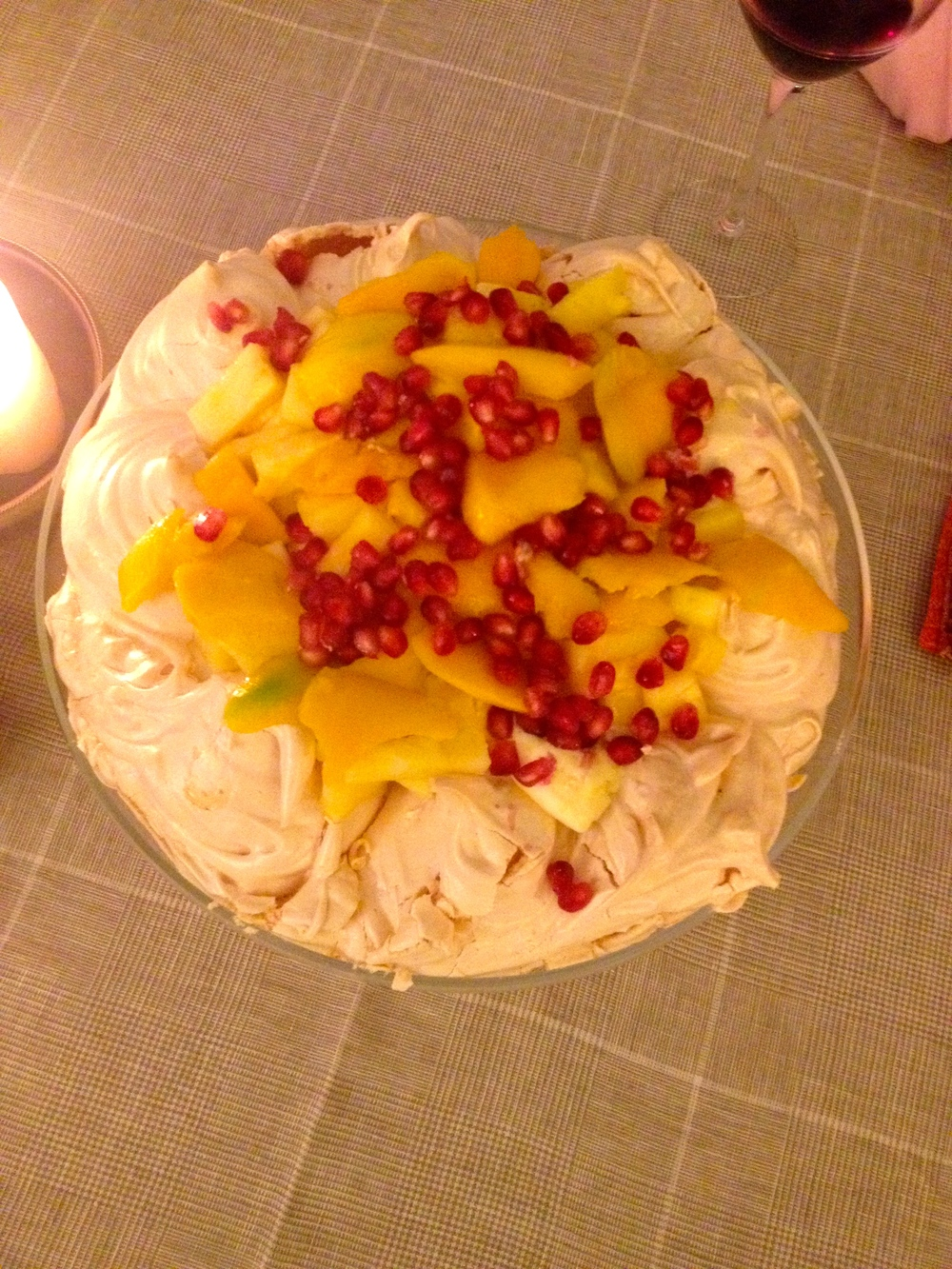 Springtime, mangoes and pomegranate
