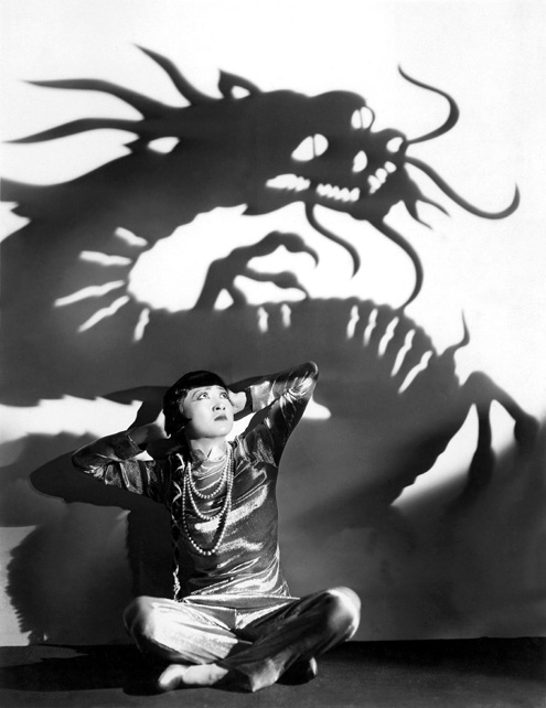 "Film still from "" Daughter of the Dragon "" 1931"