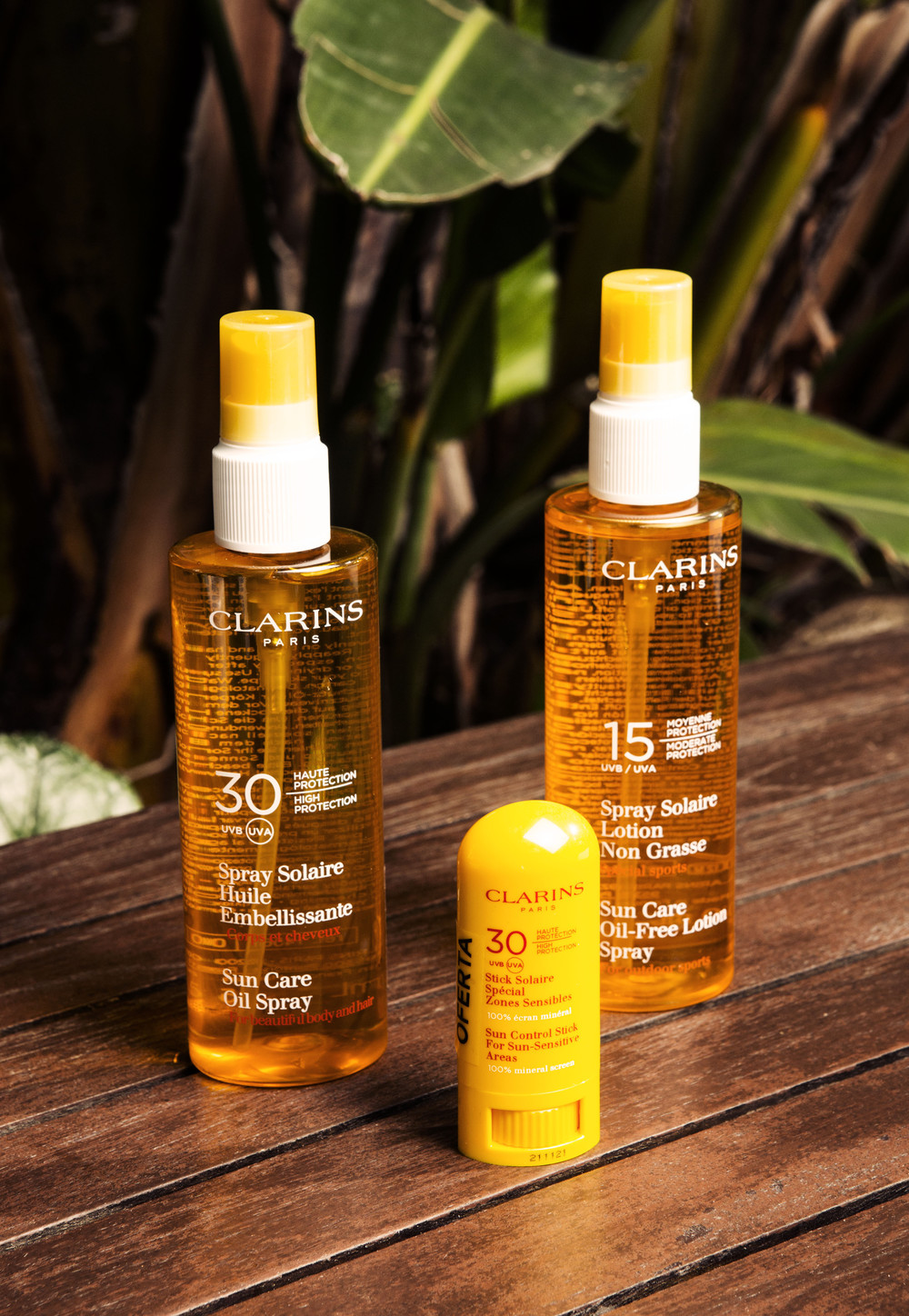 """To me, summer is about the best sun protection I can get, so my first choice goes to Clarins as I'm sure that I'll be well protected."""""""