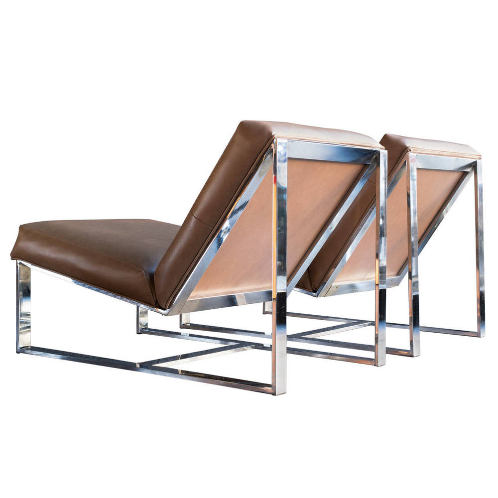 Milo Baughman Lounge Chairs  OFFERED BY FRESH KILLS $4,000