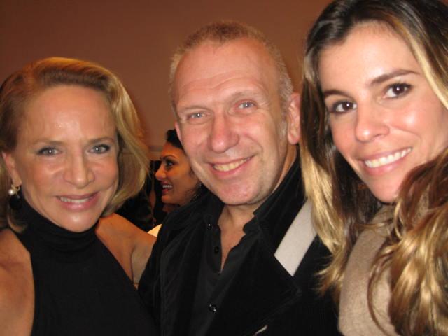With Jean Paul Gaultier