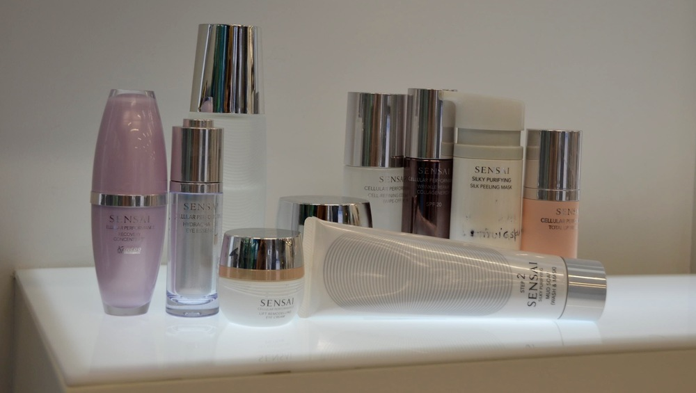 How to look good, Sensai beauty products is a way.