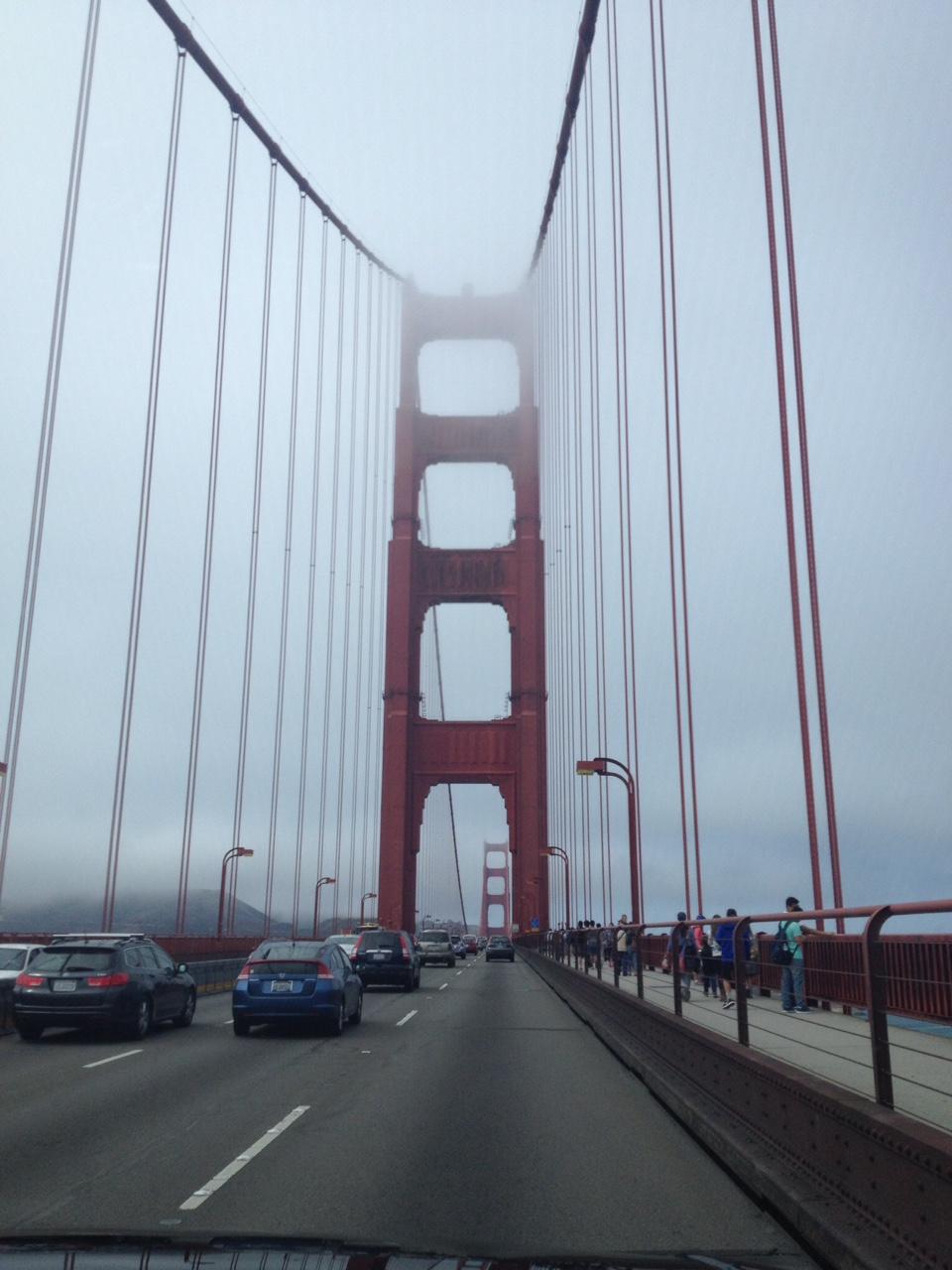 Eternally foggy San Francisco