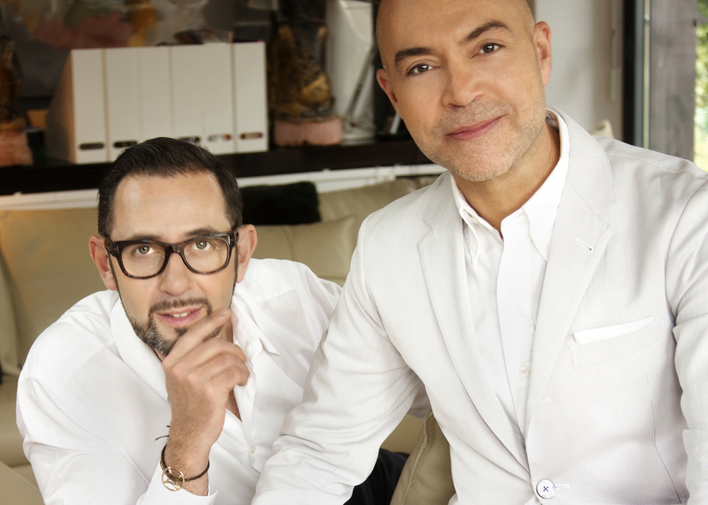 The faces of OITOEMPONTO, Jacques Bec and Artur Miranda