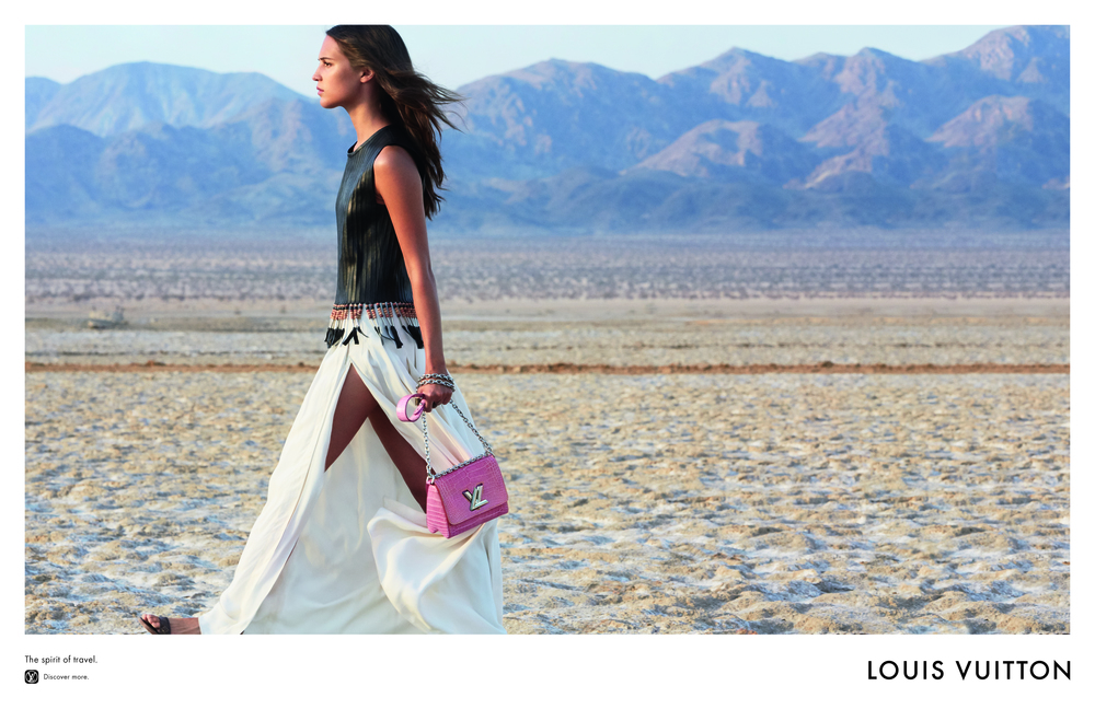 Take your Vuitton for a walk on the wild side...