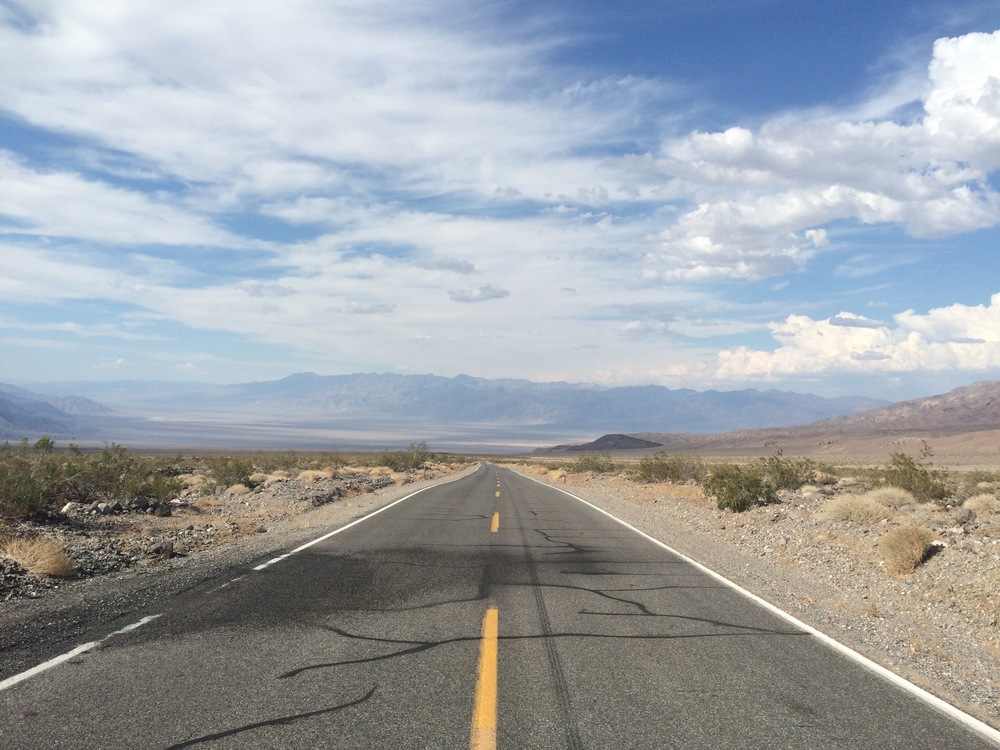 On the road again, endless.