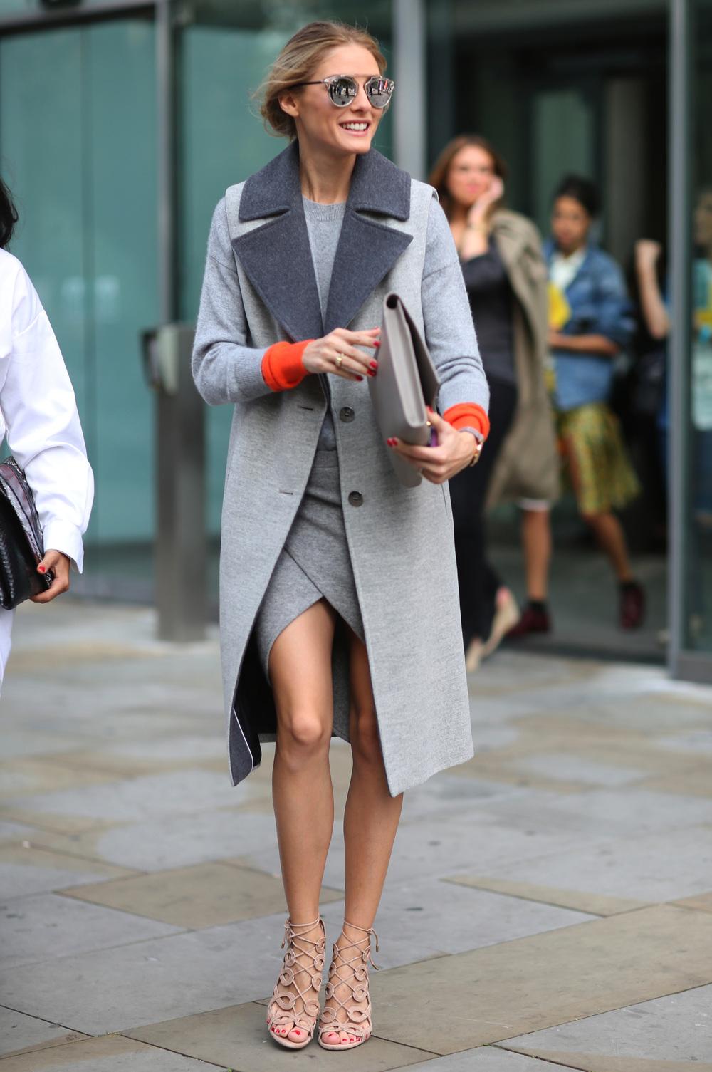 The ever stylish Olivia Palermo