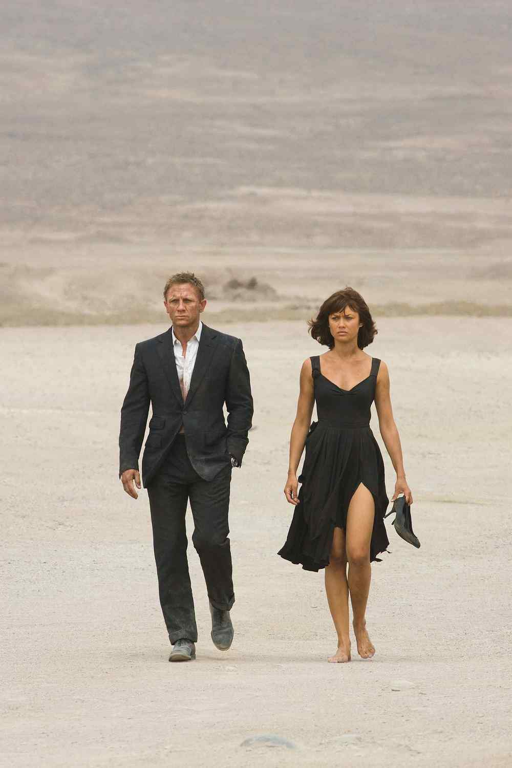 When I worked as a Stylist, I took Olga Kurylenko as a model on a shoot to Mexico, she was one of the nicest, sweetest and funny girls you could wish for on a trip! Here in Quantum of Solace.